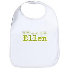 Yellow Ellen Name Bib