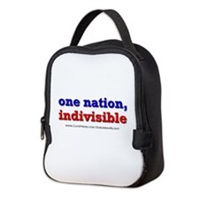 One Nation Indivisible light Neoprene Lunch Bag