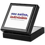 One Nation Indivisible light Keepsake Box