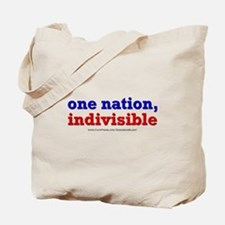 One Nation Indivisible lightapparel Tote Bag