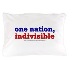 One Nation Indivisible lightapparel Pillow Case