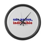 One Nation Indivisible lightapparel Large Wall Clo
