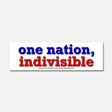 One Nation Indivisible 10x3 Car Magnet 10 x 3