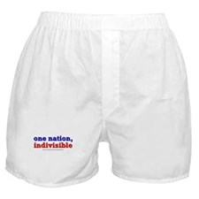 One Nation Indivisible lightapparel Boxer Shorts