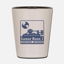 Lunar Auditing Division Shot Glass