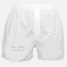 MRS. GIBBS #5 Boxer Shorts