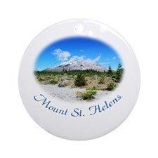 Mount St. Helens. National Park Ornament (Round)