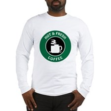 GIBBS COFFEE Long Sleeve T-Shirt