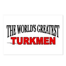 """The World's Greatest Turkmen"" Postcards (Package"