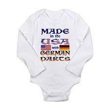 Made USA With German Parts Long Sleeve Infant Body