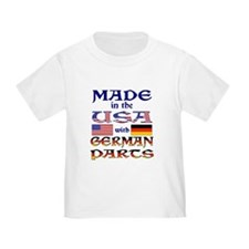 Made USA With German Parts T