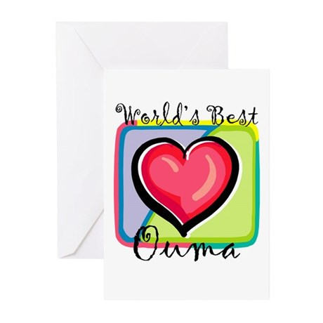 WB Grandma [Afrikaans] Greeting Cards (Package of