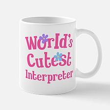 Worlds Cutest Interpreter Mug
