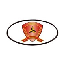 USMC - HQ Bn - 3rd Marine Division Patches