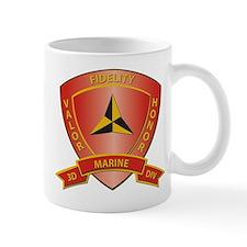 USMC - HQ Bn - 3rd Marine Division Mug