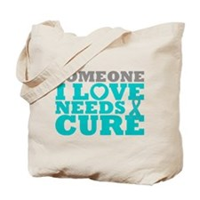 Peritoneal Cancer Needs A Cure Tote Bag