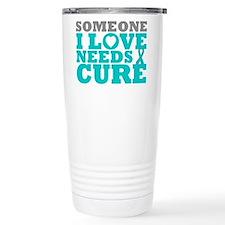 Peritoneal Cancer Needs A Cure Travel Mug