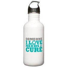 Peritoneal Cancer Needs A Cure Water Bottle
