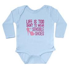 Sensible Shoes Long Sleeve Infant Bodysuit