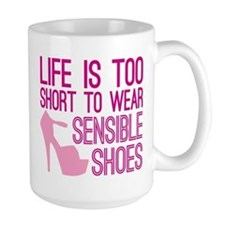 Sensible Shoes Mug