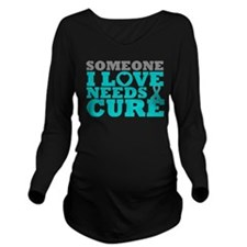 PCOS Needs A Cure Long Sleeve Maternity T-Shirt
