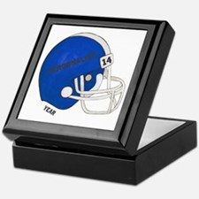 Football Helmet Keepsake Box