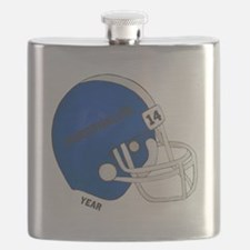Football Helmet Flask