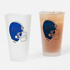 Football Helmet Drinking Glass
