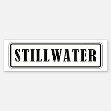 STILLWATER Bumper Bumper Bumper Sticker