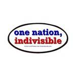 One Nation Indivisible Bevmug Patches