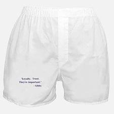 LOYALTY... Boxer Shorts