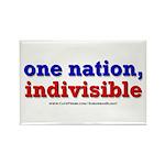 One Nation Indivisible bevmug Magnets