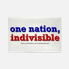One Nation Indivisible bevmug Magnets