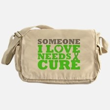Muscular Dystrophy Needs A Cure Messenger Bag