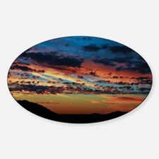 All the colors sunset Decal