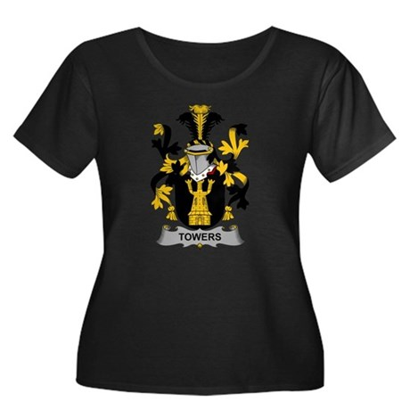Towers Family Crest Plus Size T-Shirt