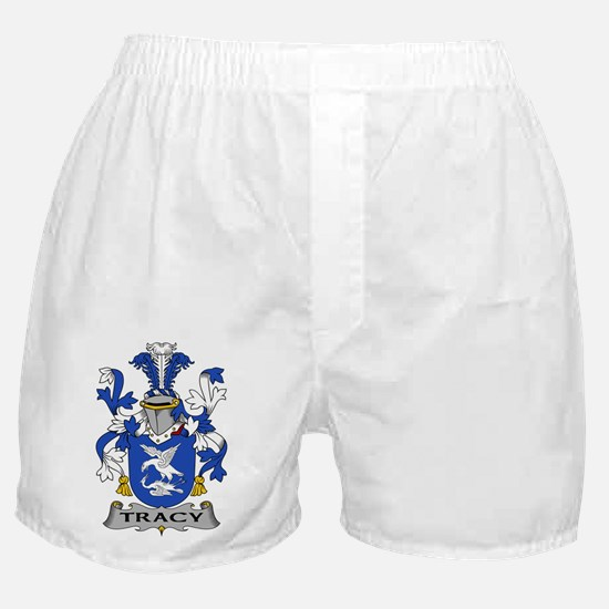 Tracy Family Crest Boxer Shorts