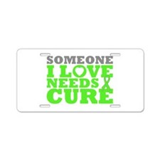 Lyme Disease Needs A Cure Aluminum License Plate