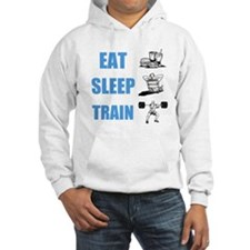 EAT SLEEP TRAIN Hoodie