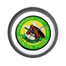 Barstow Sheriffs Posse Wall Clock