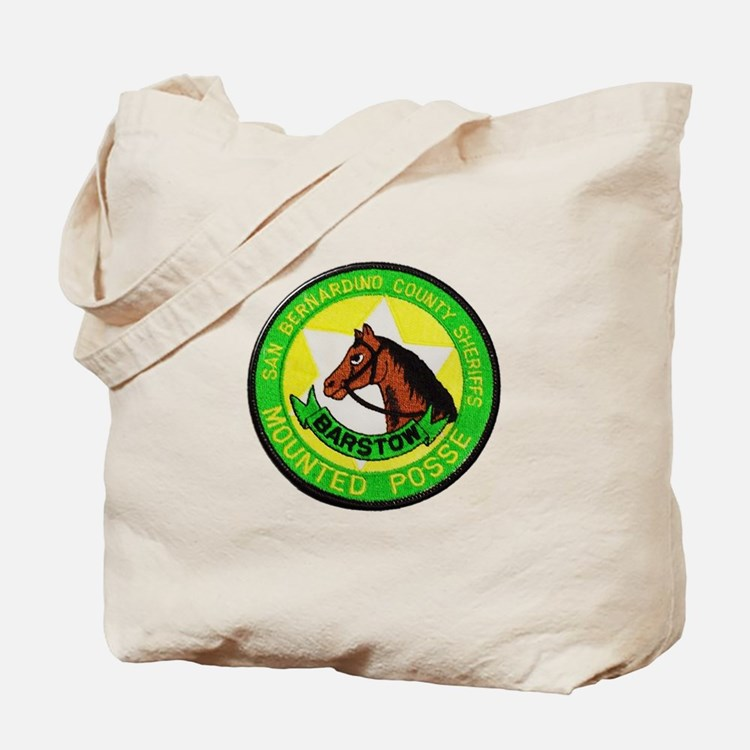 Barstow Sheriffs Posse Tote Bag
