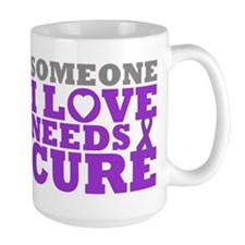 Lupus Needs A Cure Coffee Mug