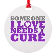 Lupus Needs A Cure Ornament