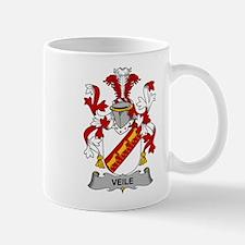 Veile Family Crest Mugs