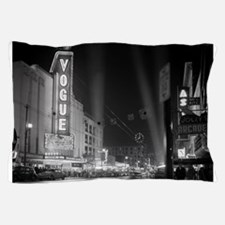 Vogue Theatre at night Pillow Case