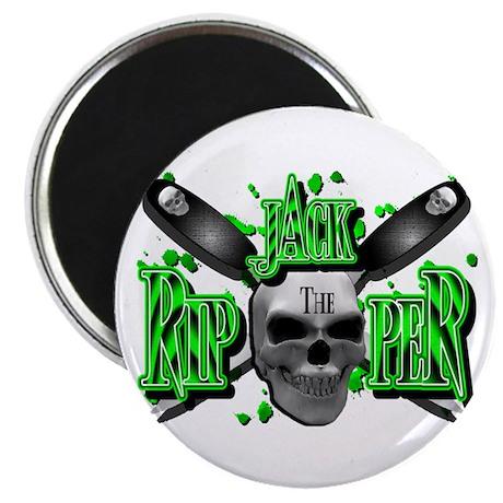Jack the Ripper Green N Black Magnet