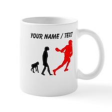Custom Lacrosse Evolution (Red) Mugs