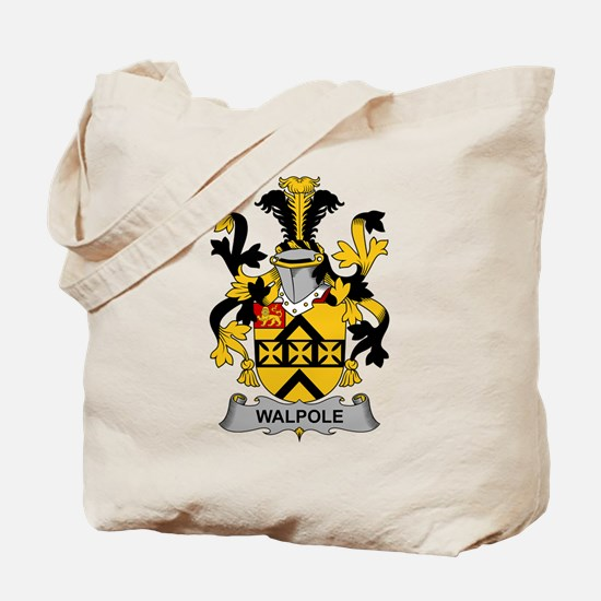 Walpole Family Crest Tote Bag