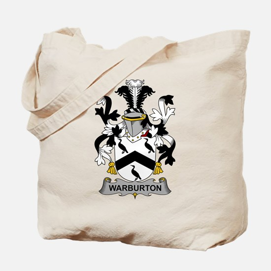 Warburton Family Crest Tote Bag