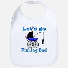 Lets go fishing buggy Bib